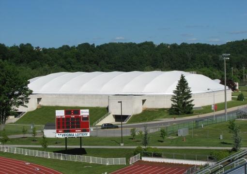 Dedmon Athletic Center in Radford, Virginia, USA